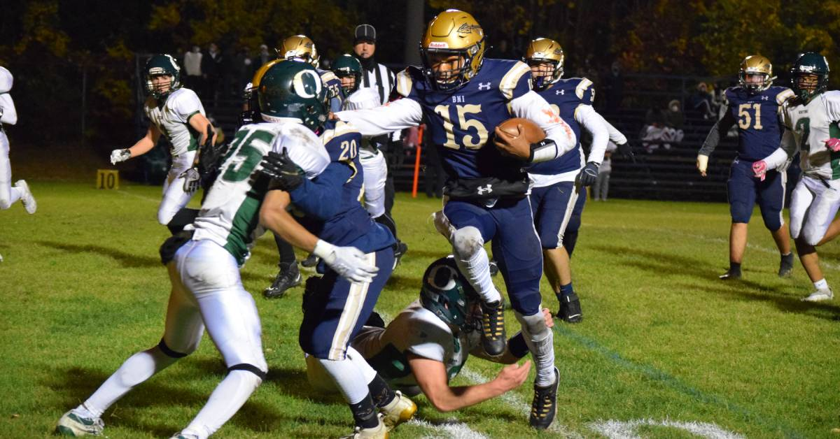 Whiting High School and Bishop Noll Institute face off in a 2A sectional game to remember