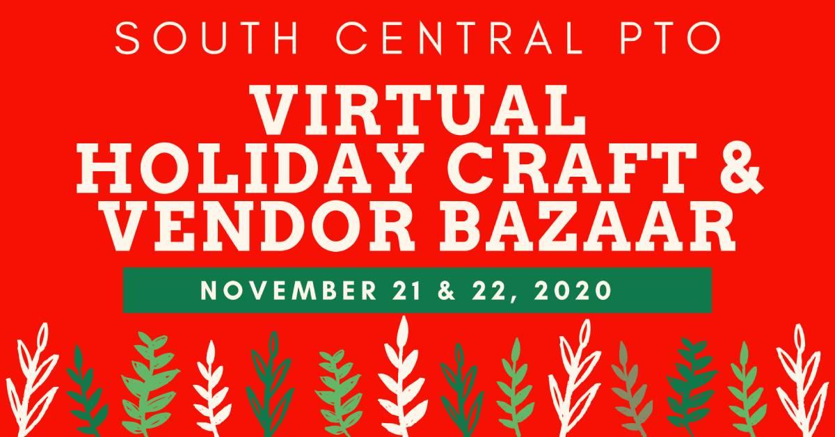 South Central PTO virtual holiday craft & vendor bazaar