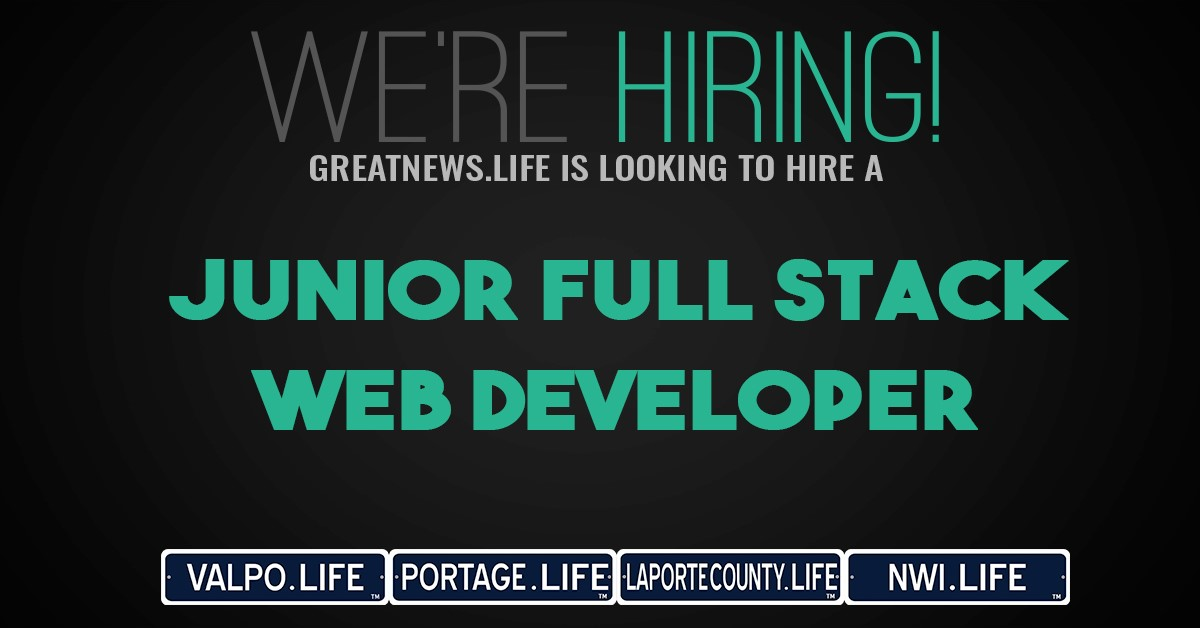 GreatNews.Life is hiring a Junior Full Stack Web Developer