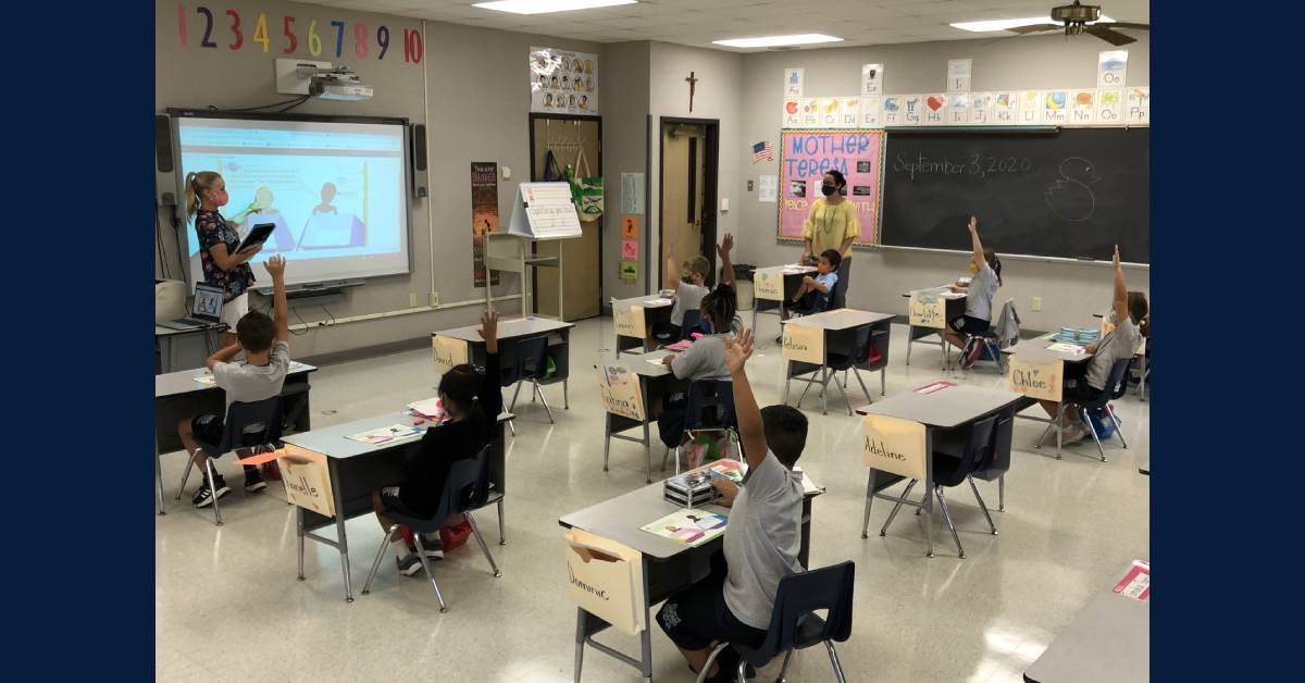 St. Mary's School in Crown Point to Continue In-Person Education