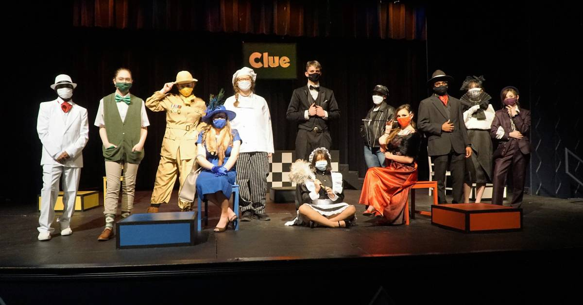 Drama Club at Bishop Noll Institute brings classic whodunnit board game to the stage with their production of Clue