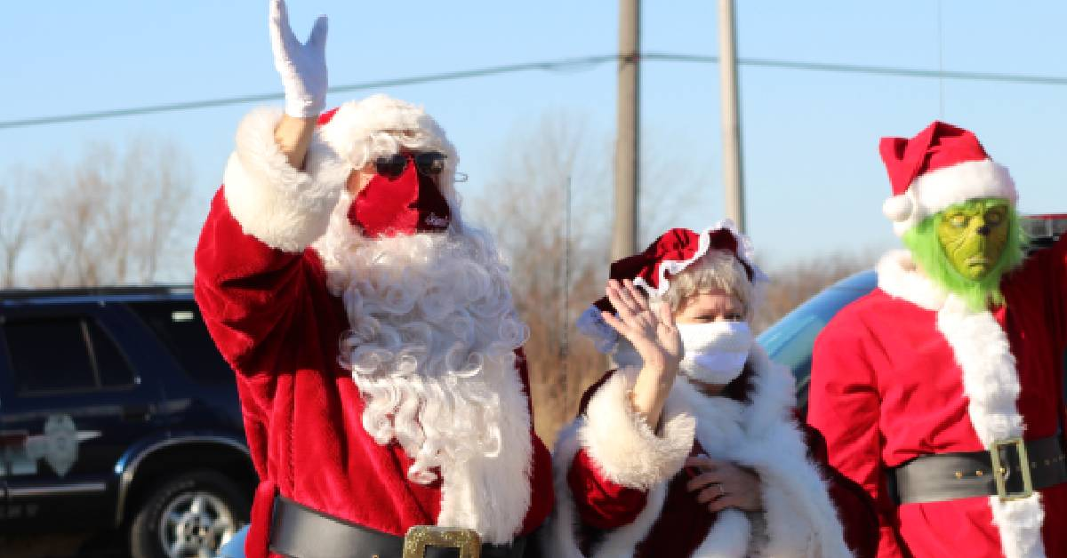City of Crown Point's Annual Santa Parade brings holiday cheer to community