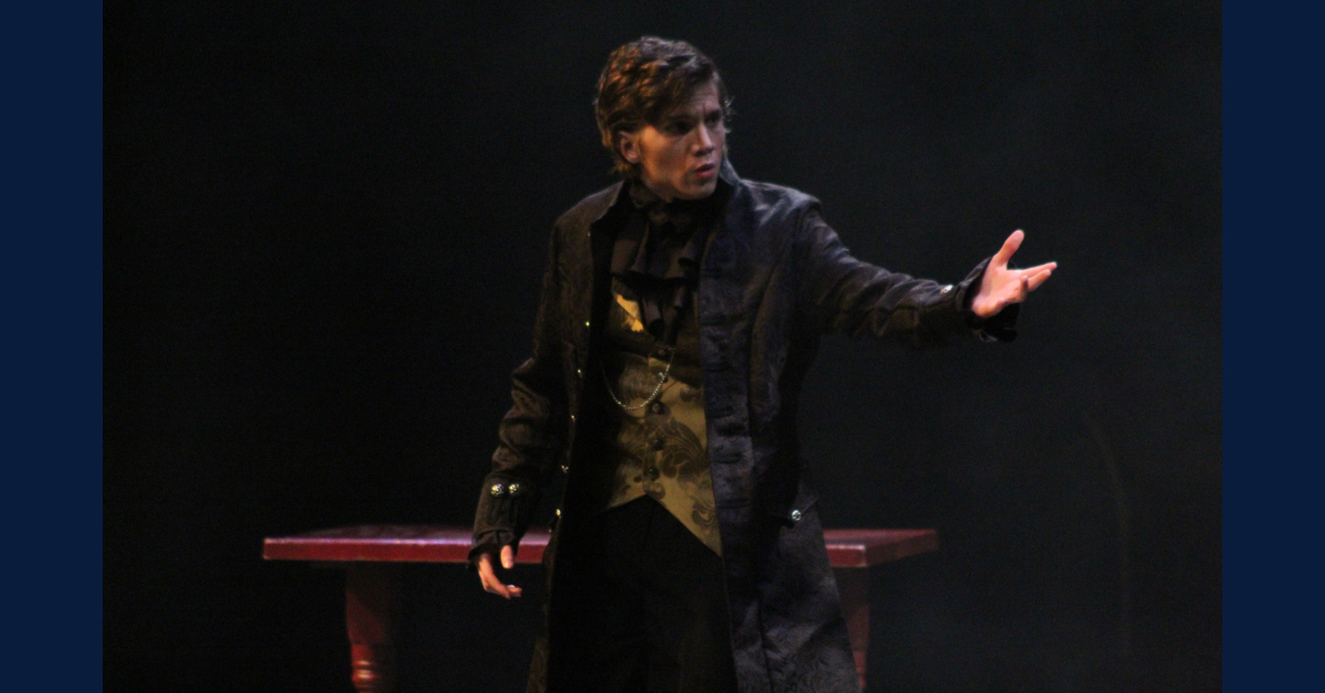 """Crown Point High School Theatre performs """"The Trial of Ebenezer Scrooge"""""""