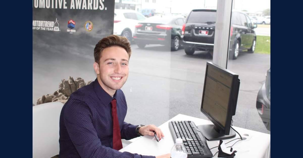 A Thomas Kia of Highland Employee Spotlight: Gavin Gescheidler
