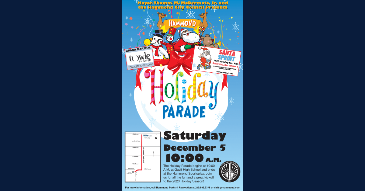 Hammond Holiday Parade & Santa Sprint Fun Run