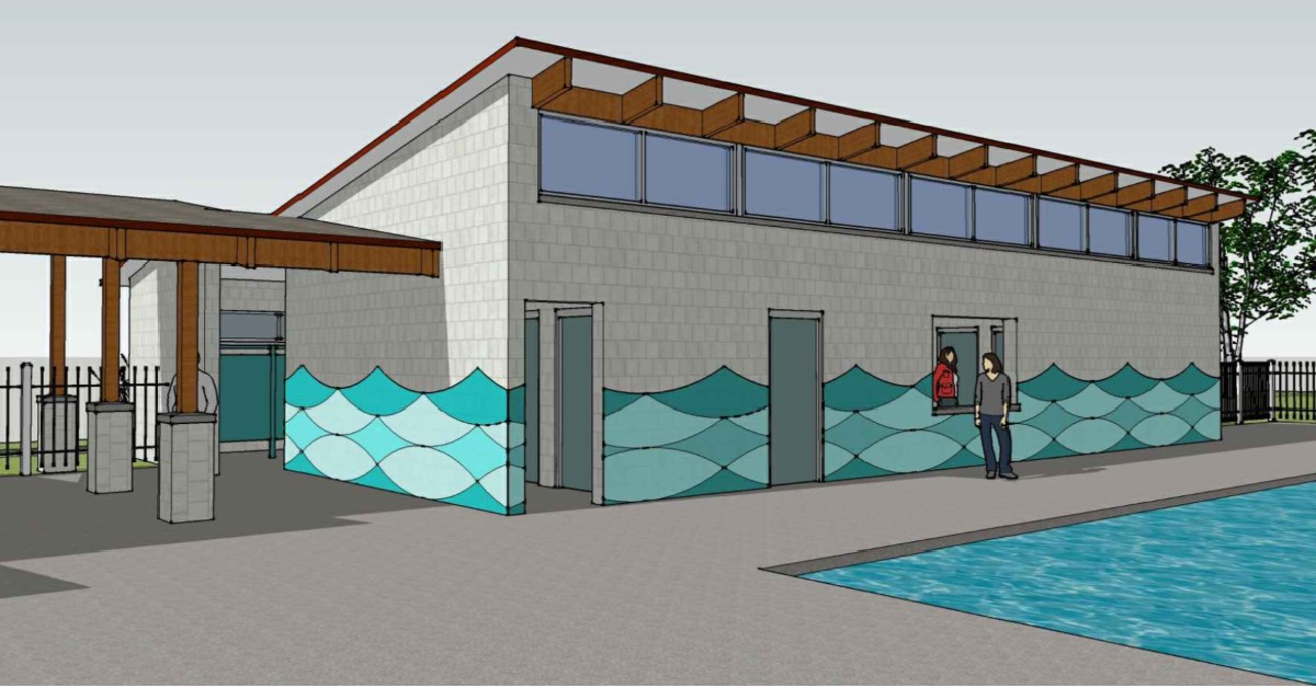 Hobart Parks and Recreation works to update poolhouse and build nine playgrounds