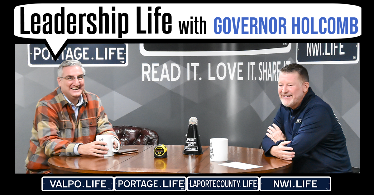 Leadership Life Series: Eric J. Holcomb, Governor of Indiana