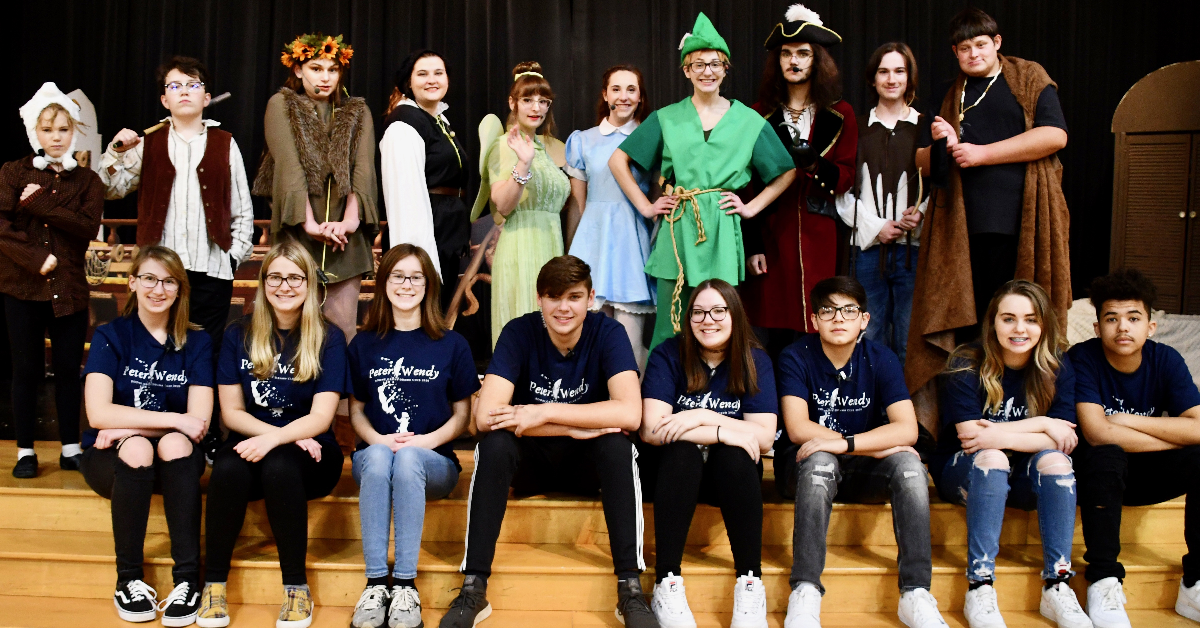 Boone Grove Drama Club holds their very first live stream performance