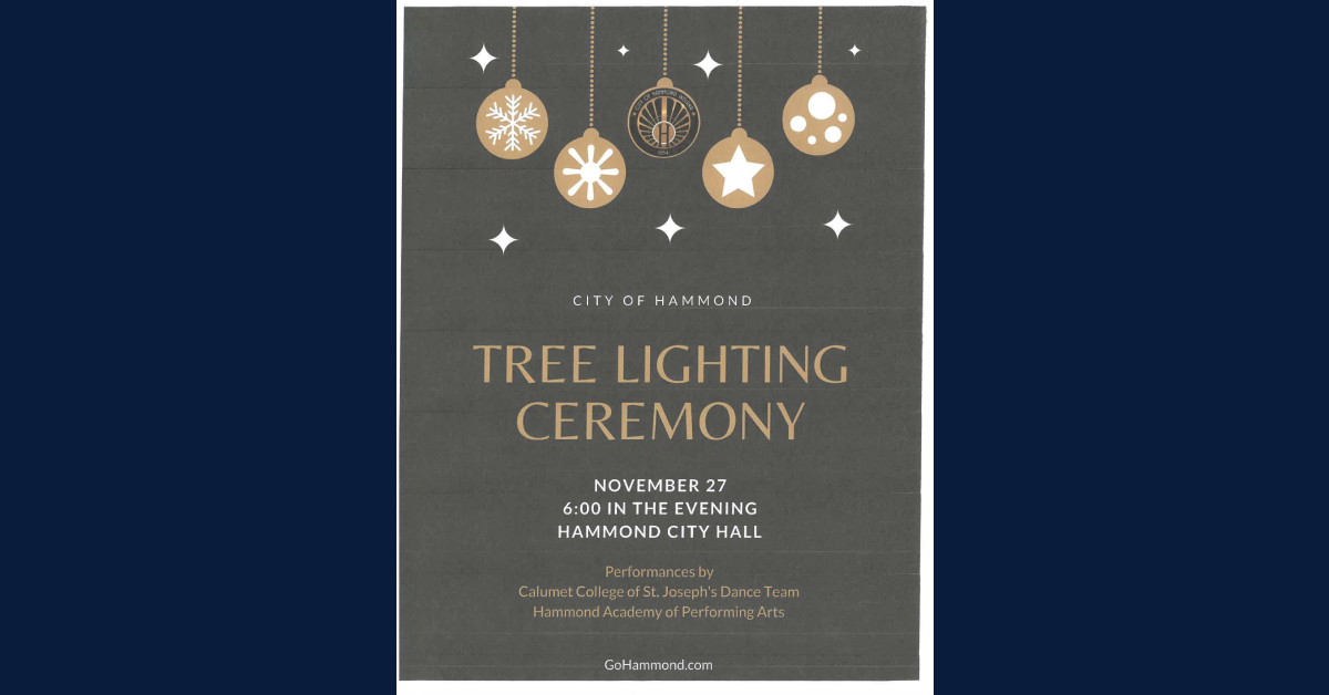 Hammond's 2020 Tree Lighting Ceremony