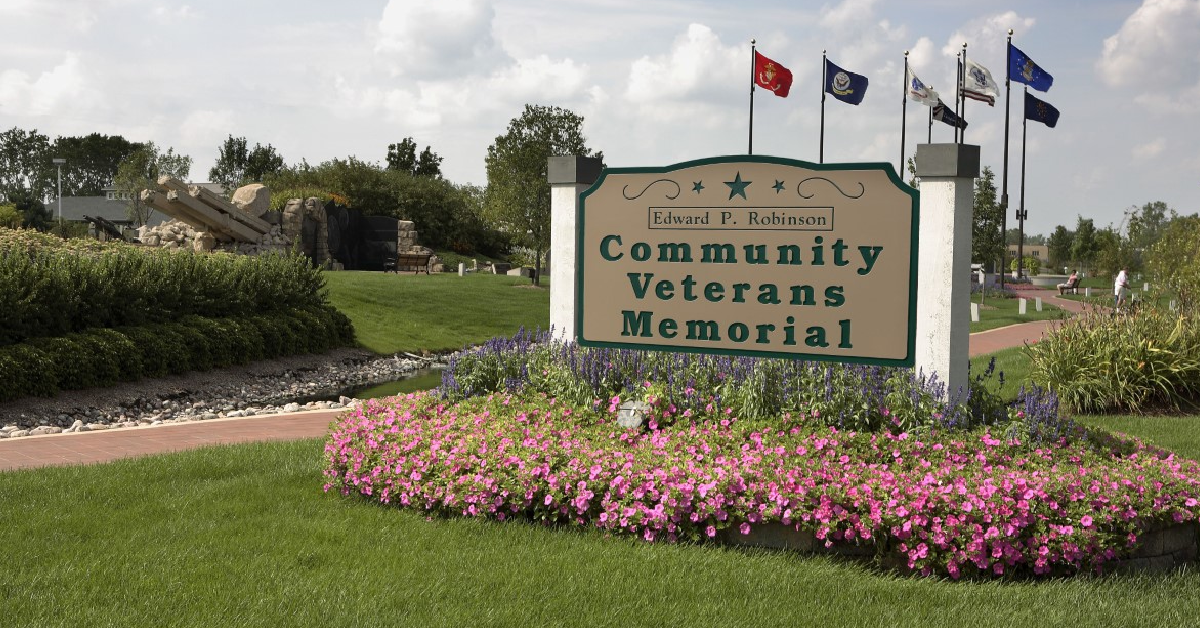 Remembrance/Salute set for Edward P. Robinson Community Veterans Memorial