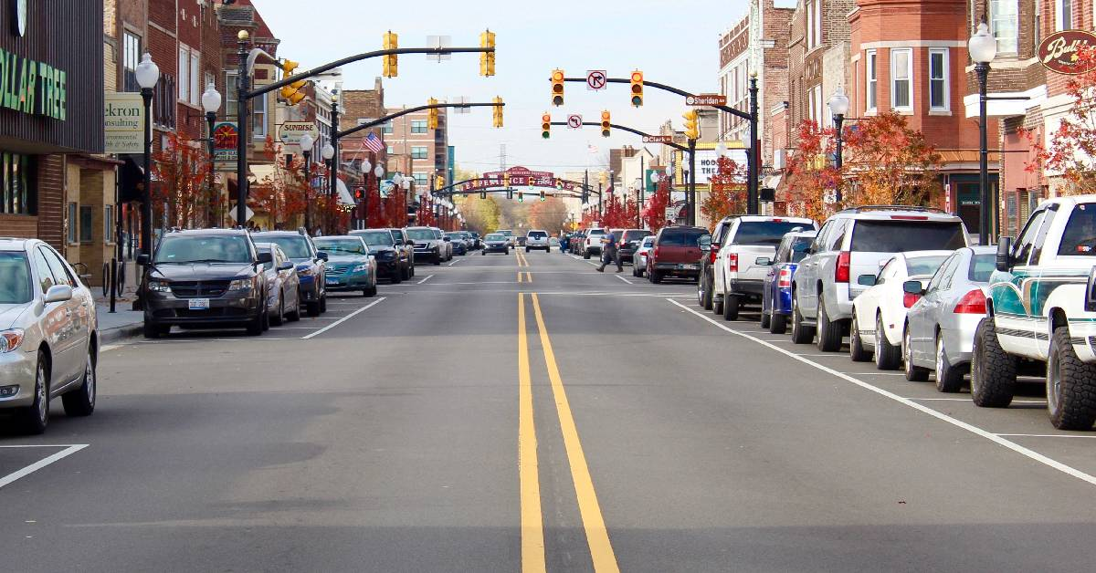 119th Street in Whiting is repaved in time for the holidays