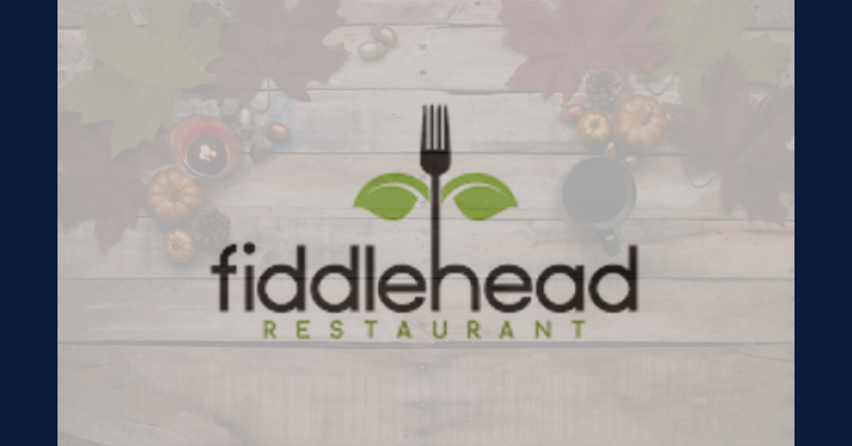Fiddlehead Thanksgiving Catering Menu