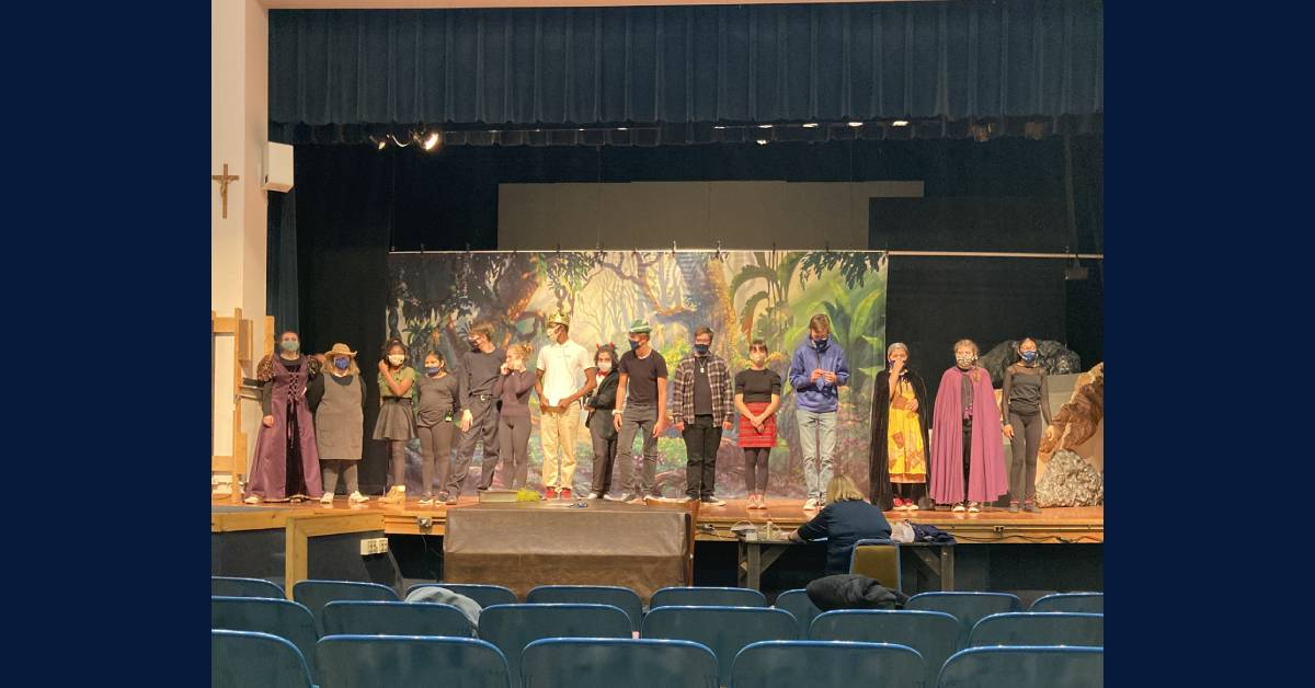 #1StudentNWI: Marquette Catholic High School theater,  a home for all