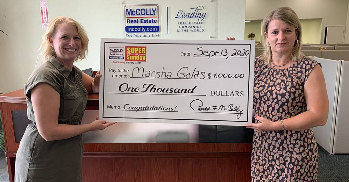 Browse houses for a chance to win $1000 with McColly Real Estate's Super Sunday