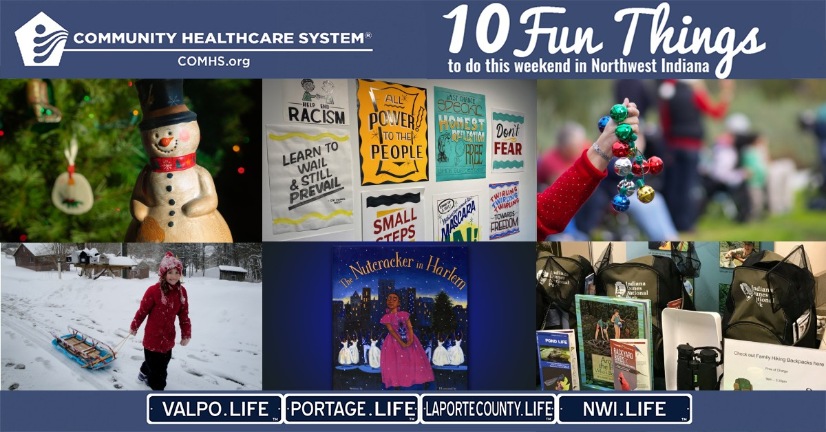10 Fun Things to do in Northwest Indiana this weekend, December 24 – 27