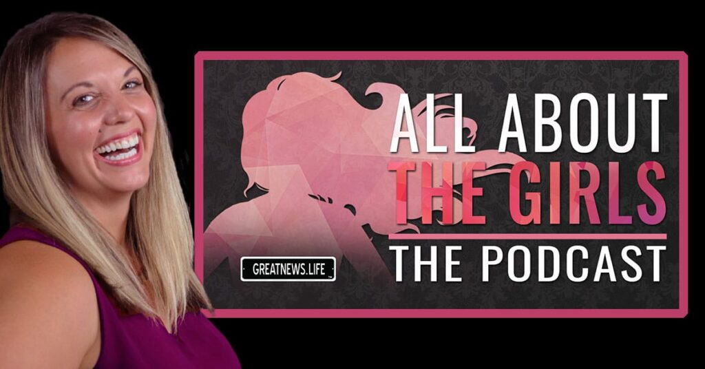 all about the girls podcast graphic