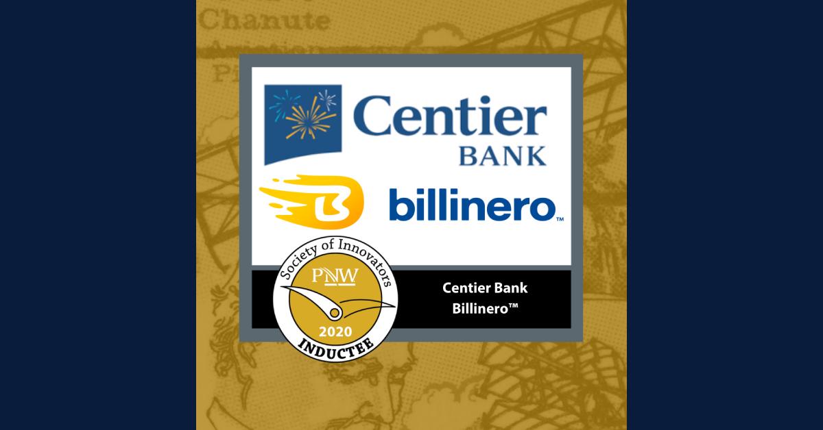 Centier Bank's Billinero team honored at 2020 Innovators Awards