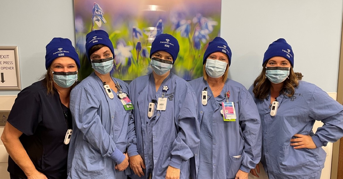 1st Source Bank thanks healthcare heroes with winter cap donation