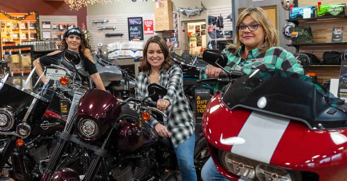 Local Harley-Davidson shops celebrate the holidays with Christmas cheer