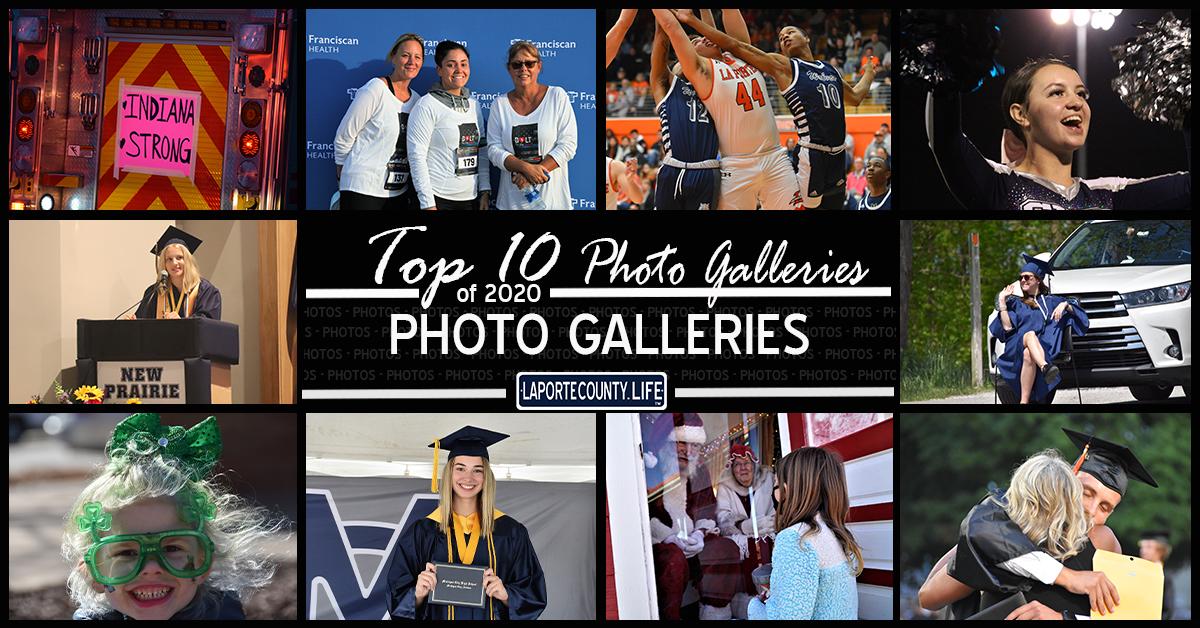 Top 10 photo galleries on LaPorteCounty.Life in 2020