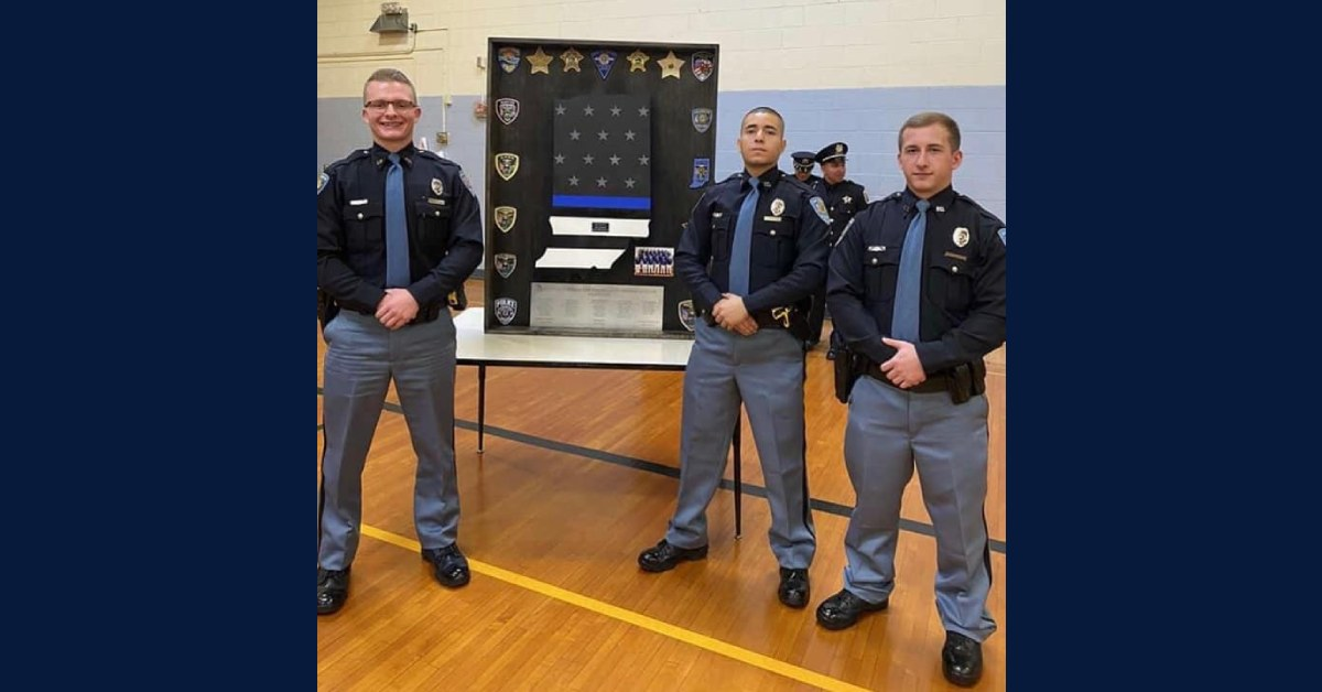 La Porte Police Department welcomes new officers to the force