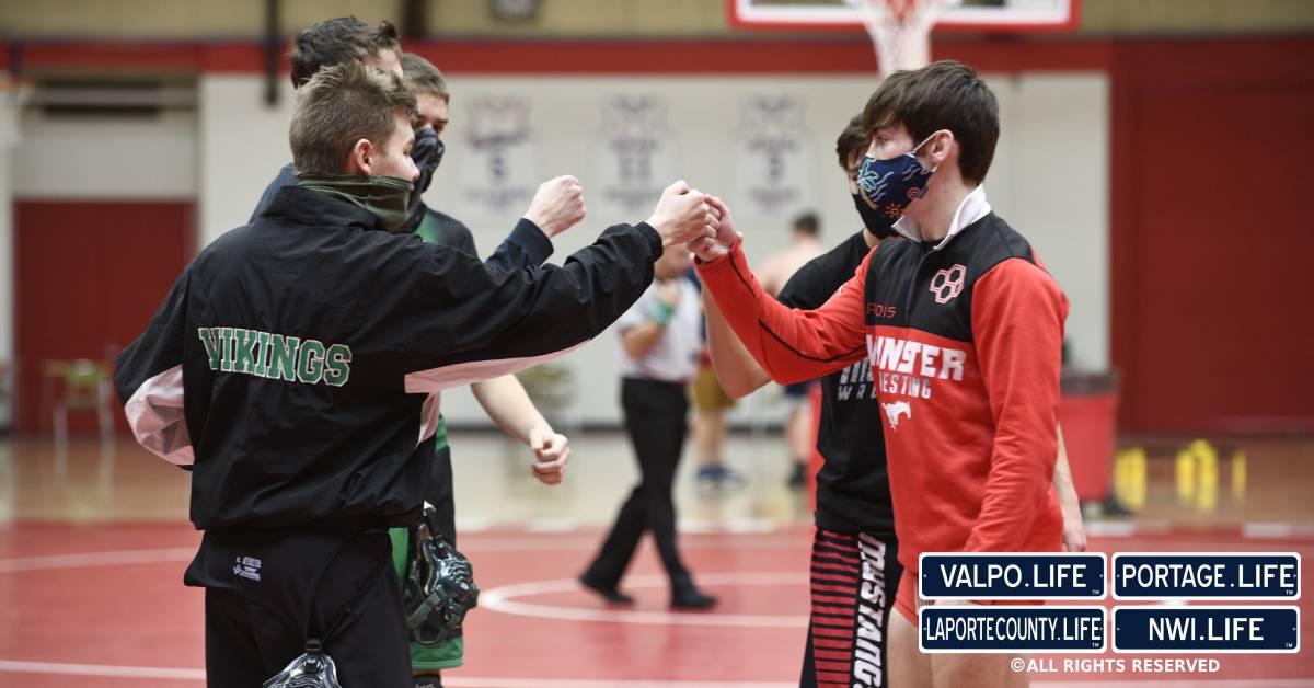 New Prairie High School wrestling wins Munster Super Duals tournament