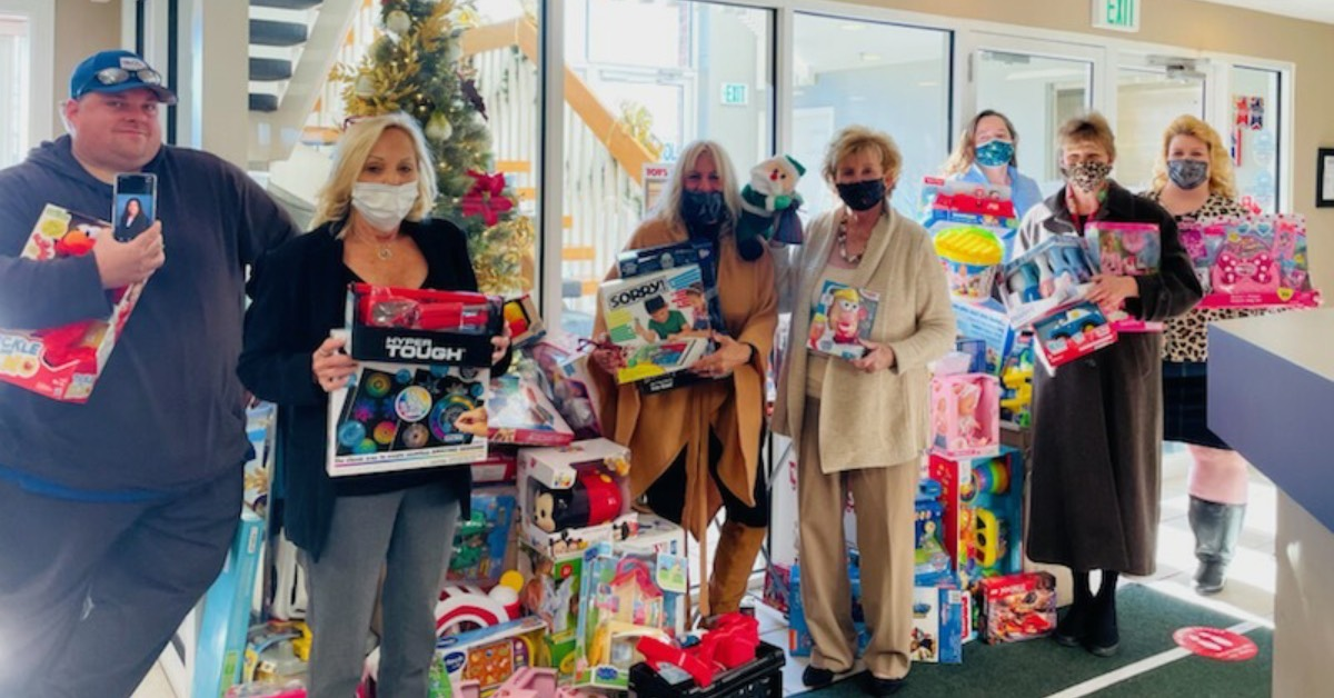 McColly Real Estate gives back with Toys for Tots drive and Super Sunday
