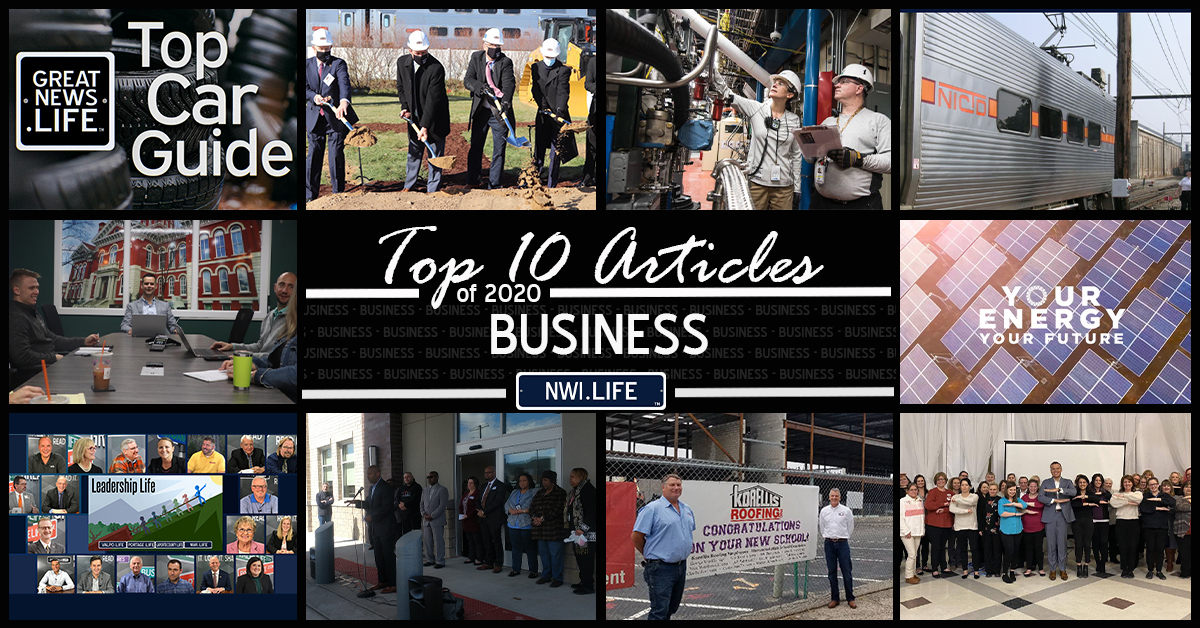 Top 10 business articles on NWI.Life in 2020