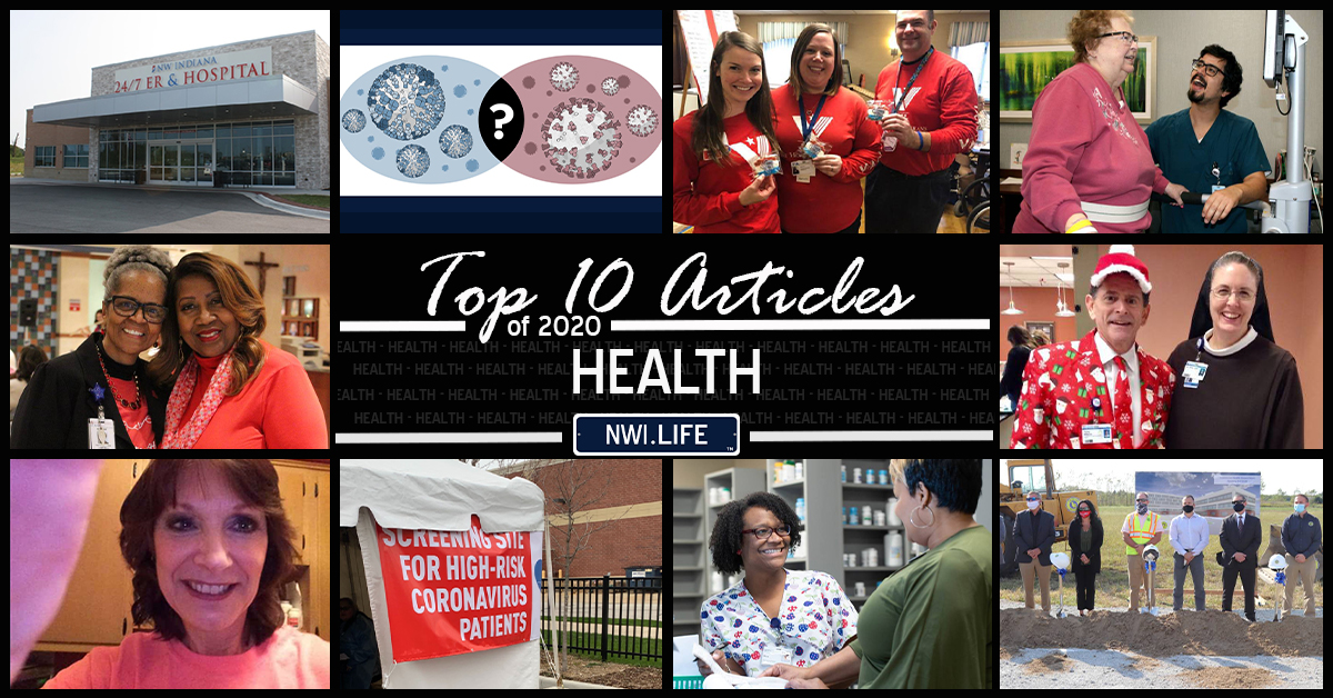 Top 10 health articles on NWI.Life in 2020