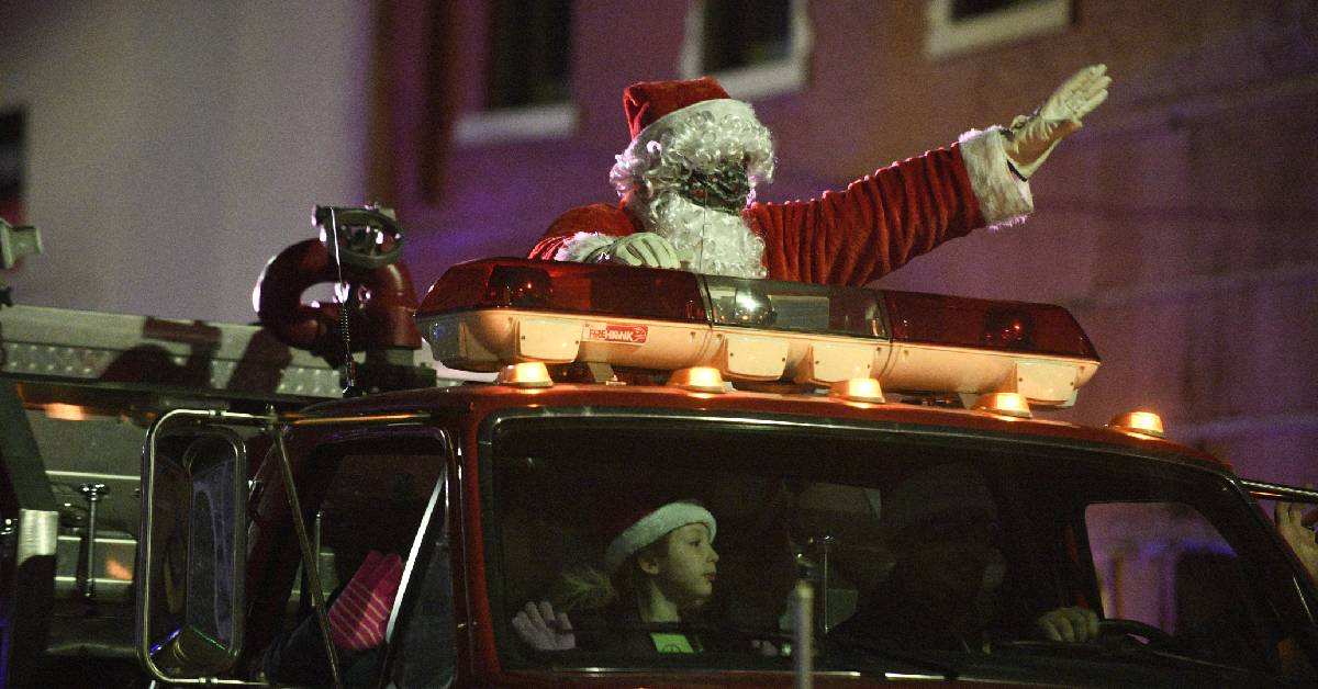 Excitement lights up the streets of Downtown Winamac with their annual Electric Parade