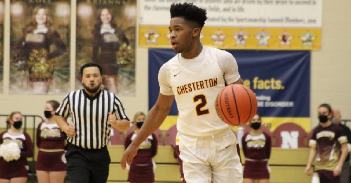 Chesterton tops Merrillville in Boys' Basketball matchup