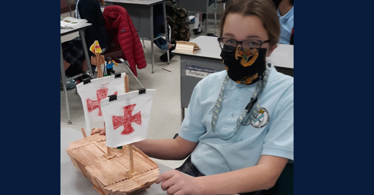 "St. Mary's Students Learn through ""Hands On"" Experiences"