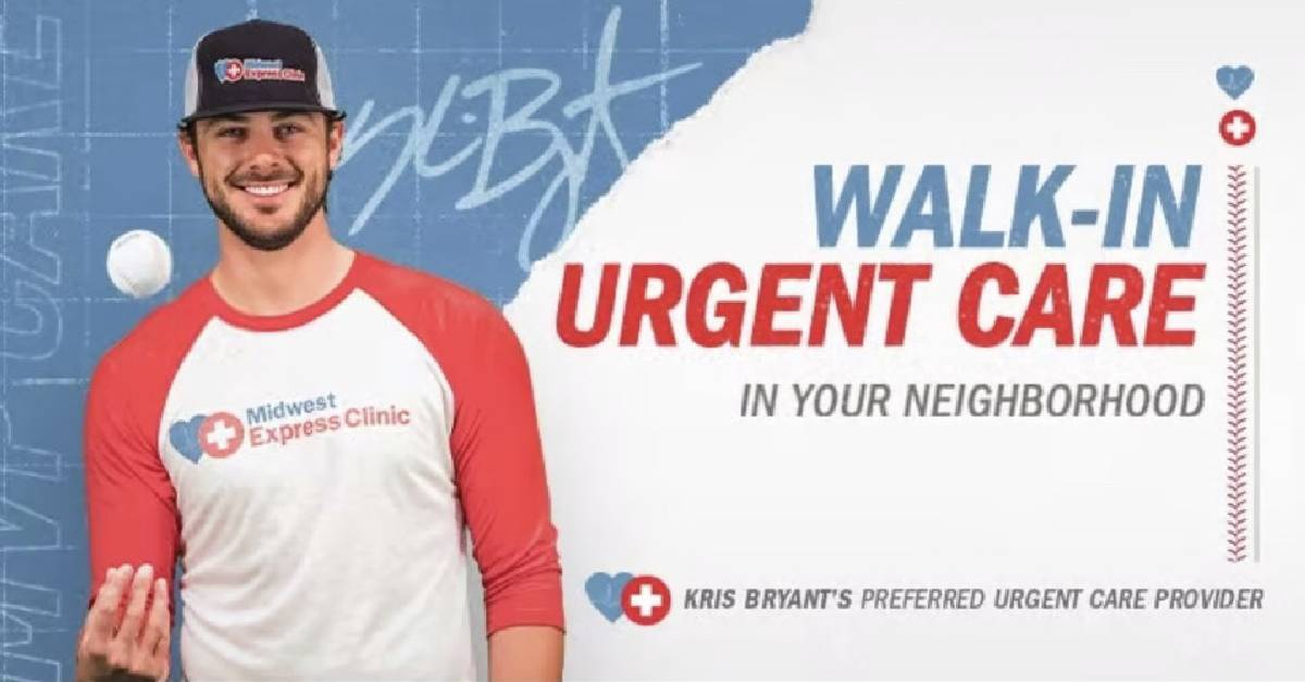 Midwest Express Clinic taps baseball superstar Kris Bryant as brand ambassador