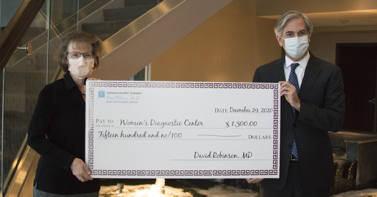 Munster Plastic Surgeon's office contribution helps women get timely care