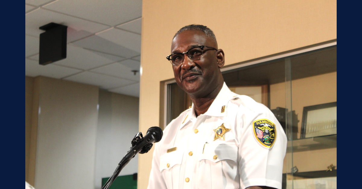 City of Hammond names first Black police chief, honors outgoing chief with key to the city