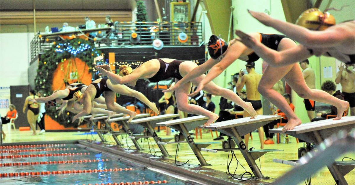 Chesterton Trojans pull ahead of LaPorte Slicers at in-conference swim meet