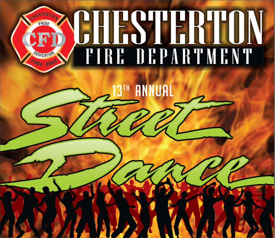 13th Annual Chesterton Fire Department Street Dance set for August Second