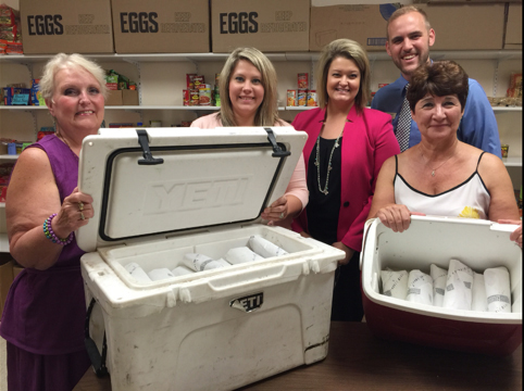 1st-Sounce-Donates-Pork-to-Pleasant-Township-Food-Pantry