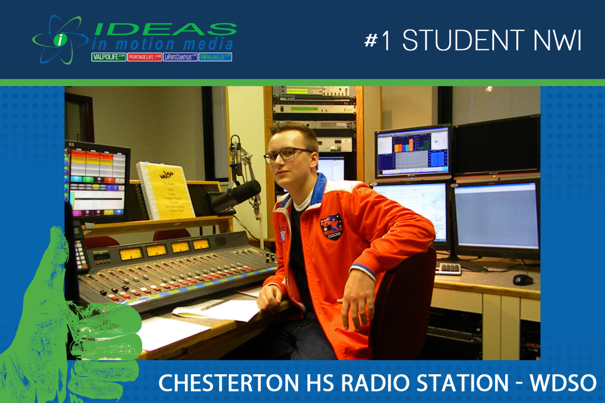 Chesterton High School Radio Station, WDSO, is an Active Part of Duneland Community