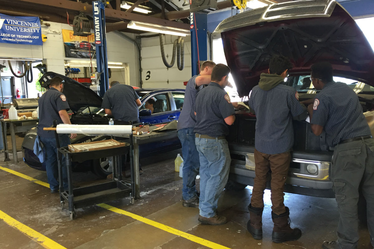 #1StudentNWI: Sampling Careers at the Porter County Career and Technical Center