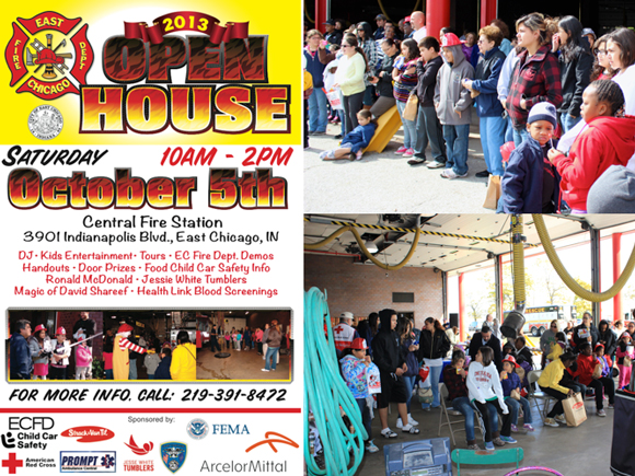 East Chicago Fire Department to Host Open House