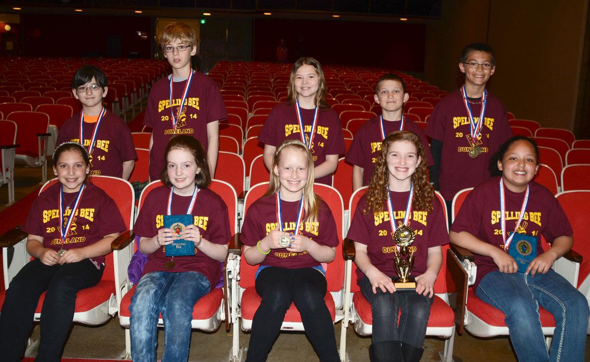 2014-Duneland-Spelling-Bee-winners