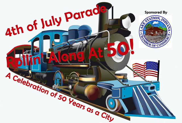 Celebrate 50 Years of Lake Station at the 4th of July Parade