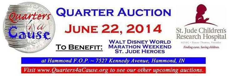 Quarters for a Cause to Raise Funds at June Auction