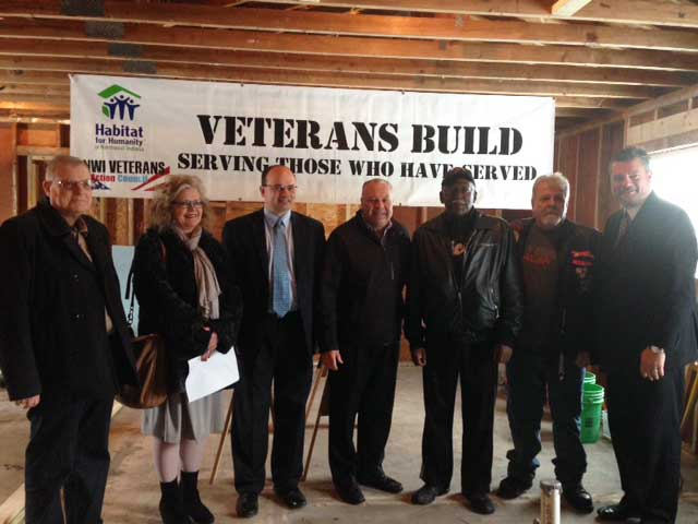 Groups Join Together for 2016 Veteran Home Build Kick-off