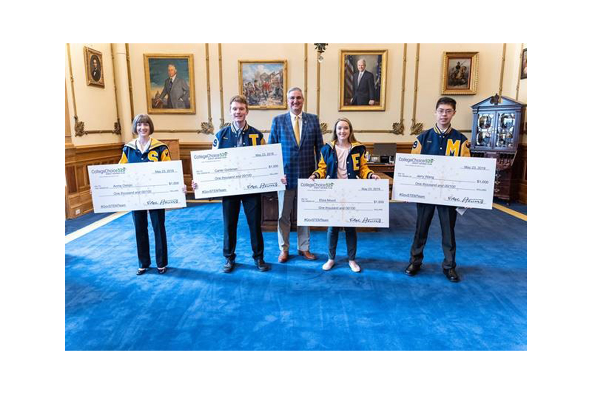 Gov. Holcomb Announces STEM Team Award Winners