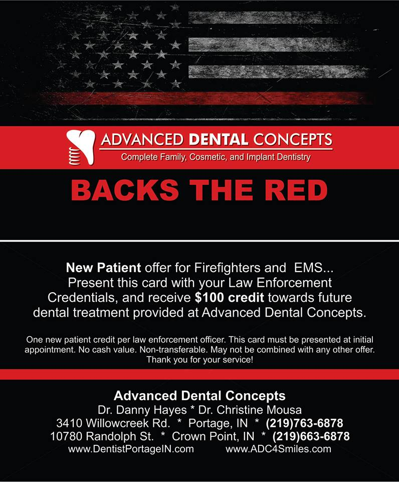 Advanced Dental Concepts Backs the Red