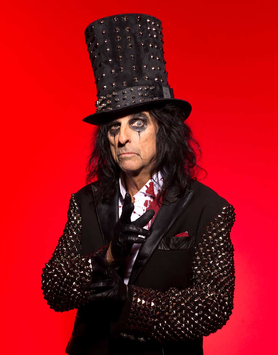 Tickets for An Evening with Alice Cooper Go on Sale Friday, January 22