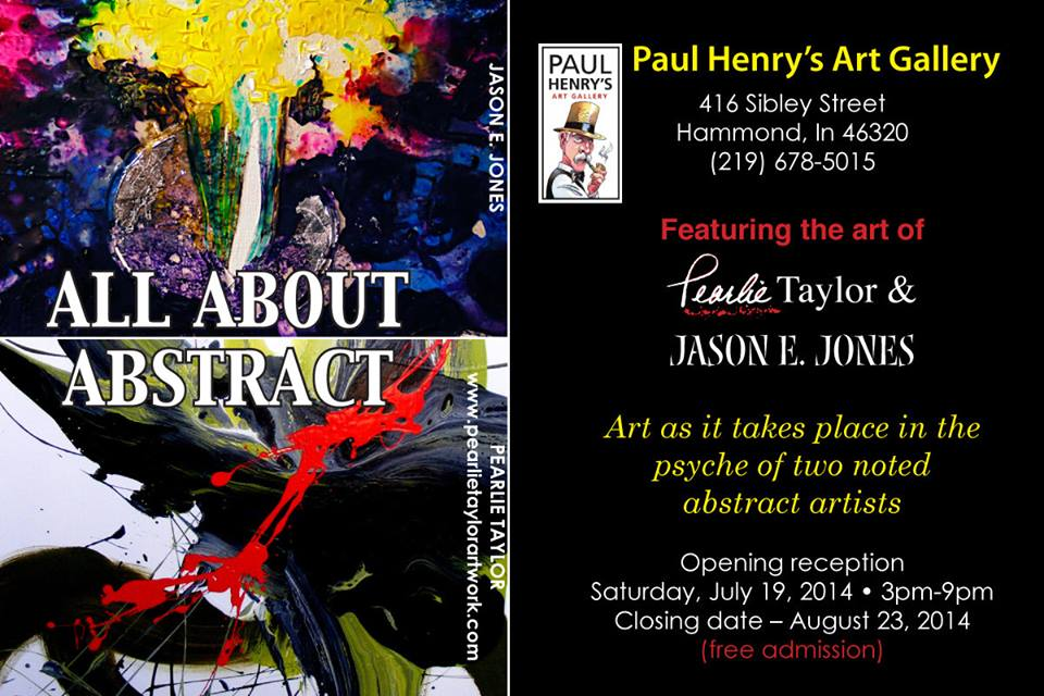 "Paul Henry's Art Gallery to Feature ""All About Abstract"" on July 19"