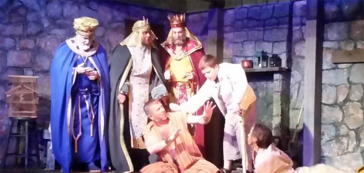 """The 4th Street Theater in Chesterton Presents """"Amahl and the Night Visitors"""""""